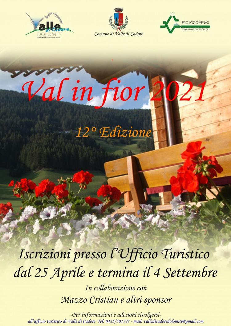 Volantino Valle in fiore 2021
