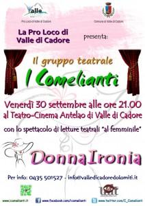 Volantino Valle DonnaIronia LOW