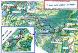 Mappa della strada