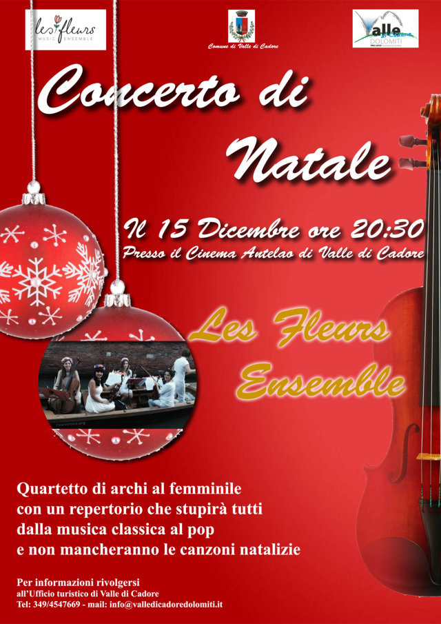 Locandina concerto natale  archi LOW